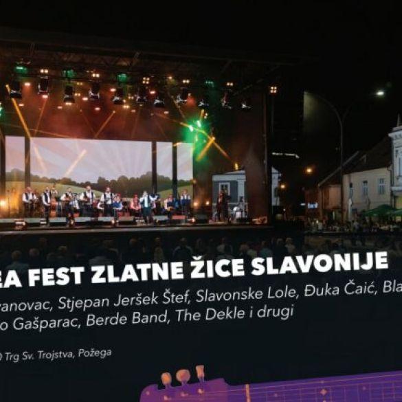 I ove godine Grad Požega organizira Aurea Fest!