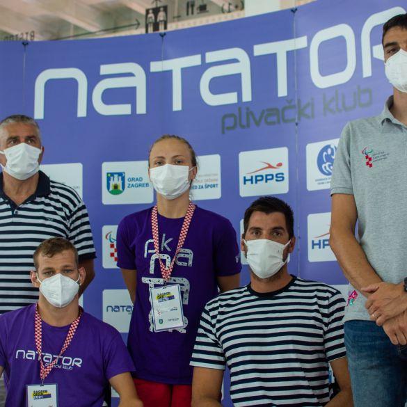 Članovi zagrebačkog Natatora prvaci Hrvatske u paraplivanju